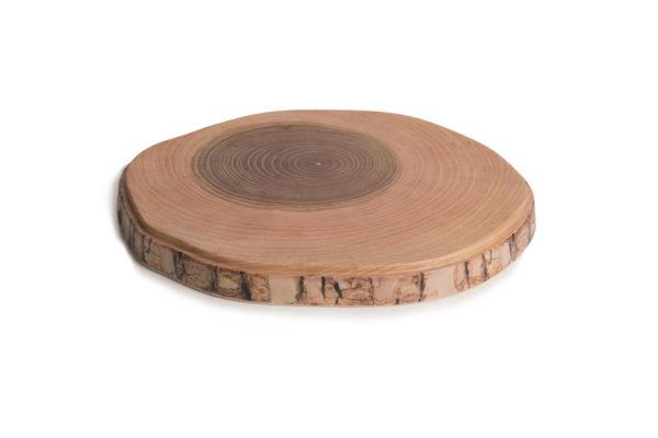 log serving board