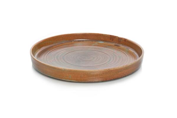nourish edge rim plate